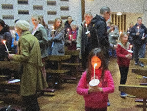 Candlemas celebration, South Woodford