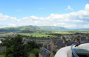 View from Stirling Castle
